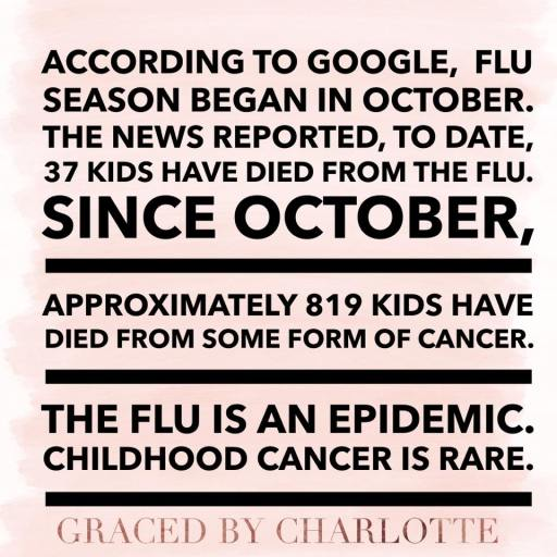 flu cancer