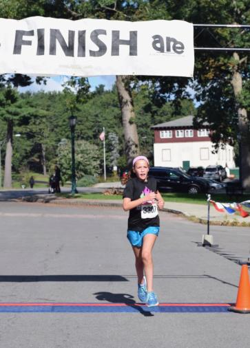 Avery Kerr Class of 2024 crosses the finish line....